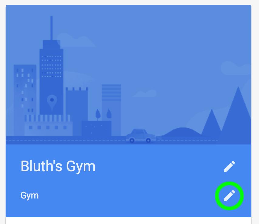 Google Maps For Fitness