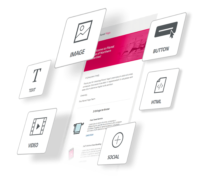 18 Features of The Club OS Email Builder - Part 1